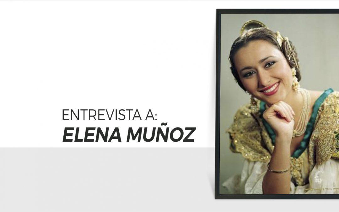 Elena Muñoz / Fallera Mayor Valencia 1996