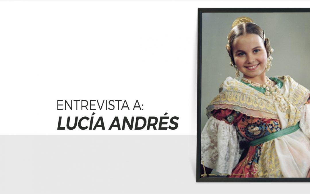 Lucía Andrés Zarapico / Fallera Mayor Infantil Valencia 1996